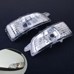 Wing Mirror Indicator Lens Light Turn Signal Lamp Fit For Volvo S40 V50 C30 set