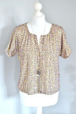 BNWT £75 Selected Femme sequin oversized boxy top UK 8