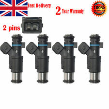 4pcs FUEL INJECTOR FOR PEUGEOT 206 306 307 1.4 CITROEN C3 SAXO XSARA PETROL New