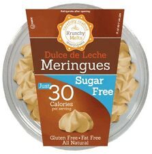 Krunchy Melts Sugar Free Meringues - Dulce de Leche, Low Carb, Fat Free, Stevia