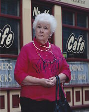 Stephanie Cole Hand Signed 8x10 Photo, Autograph, Coronation Street