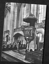 c1960s View: The Pulpit, St. Annen Church, Annaberg- Buchholz