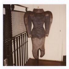 PHOTO MANNEQUIN FEMME 1970 Mode Robe Curiosité Création Épaulette Haute Couture