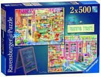 Ravensburger 14080 Teatime Treats XXL Jigsaw Puzzle 2x500 Pieces 9+ Years - New