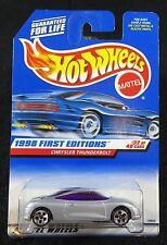 1998  Hot Wheels  First Editions  Chrysler Thunderbolt   Card #671    HW-1