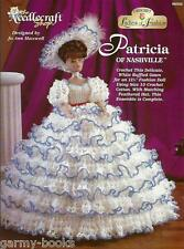 Patricia of Nashville Ladies of Fashion Crochet Pattern for Barbie Dolls NEW