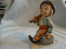 "Hummel Figurine, ""Merry Wanderer"" Hum #11/0, 4-3/4"", 1950's"