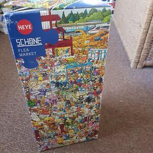 Heye Flea Market Jigsaw Puzzle 2000 Pieces New Unmade Bagged Inc Poster BNIB