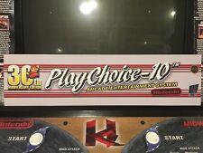 PlayChoice 10 Arcade Marquee 30th Anniversary Header Translight Backlit Nintendo