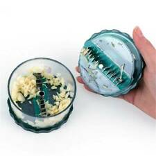 Kitchen Garlic Press Onion Ginger Crusher Grinder Chopper Mincer Tool FA