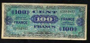 Billet 100 Francs France 1944  Série  5    ( 65884847 )