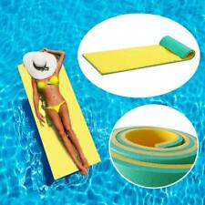2-Layer Pool Float Mat Swimming Floating Pad Mattress Bed Oasis Blanket Bed