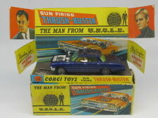 CORGI TOYS 497 MAN FROM UNCLE GUN FIRING THRUSH-BUSTER CAR 1967 SERIES BOXED VNM