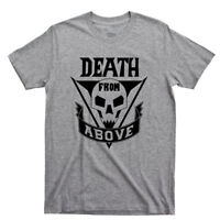 Death From Above T Shirt Starship Troopers Mobile Infantry Roughnecks Movie Tee
