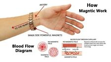 New Men & Women Therapeutic Energy Healing Magnetic Therapy Bracelets