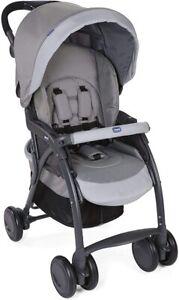 Chicco Simplicity Plus Top Passeggino Leggero per Bambini colore Grey