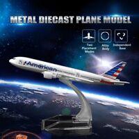 16CM Metal Diecast Plane Model Aircraft Boeing Airlines Aeroplane Desktop