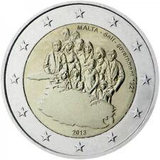 """Malte 2013 pièce de 2 euro commémorative """"Autonomie gouvernement"""" UNC du rouleau"""
