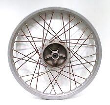 1977 77 Husqvarna 125 CR 125CR OEM Front Wheel Rim Hub Akront Leleu 21 X 1.60