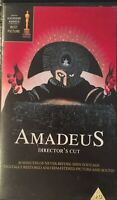 Amadeus directors cut VHS Rare Great movie Free postage