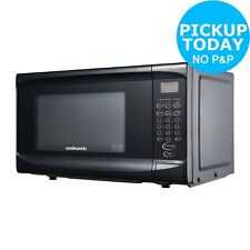 Cookworks EM7 17L 700W Solo Touch Microwave-Black