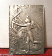 1900 UNIVERSAL EXHIBITION OLYMPIC MEDAL PLAQUE by ROTY