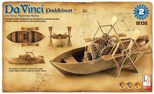 Academy Da Vinci Machines Series #2 Paddleboat w/Motion Model Kit ACY18130