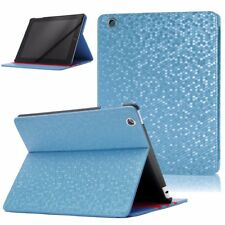 LEATHER FLIP CASE FOLD STAND CASE WITH SMART COVER FOR APPLE IPAD 2/3/4 BLUE