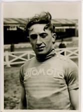 Georges Ronsse, vainqueur du Paris-Bruxelles, 1928 Vintage silver print,La Bru
