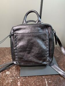 New The Sak Loyala Convertible Backpack LEATHER NWT MSRP $139