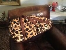 Traci Hair on Hide Leather Tennis Bags! Brand New! - Very Hard to find Item!