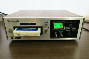 Vintage PANASONIC RS-805US 8 Track Stereo Recording Deck - Working As-Is