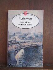 Collection Libretti/ Verhaeren: Les Villes tentaculairs/ Le Livre de Poche