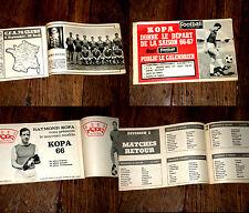 Kopa donne le départ de la saison football 1966-67 calendrier Football magazine