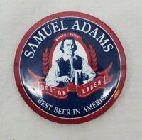 """VINTAGE """"Samuel Adams Boston Lager"""" Pin Pack Advertisement Pin Mancave Barware"""