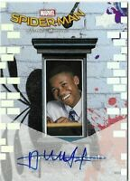 Upper Deck Spider-Man Homecoming - Abraham Attah - Autograph - SS11