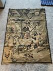 Beautiful Antique French Tapestry (Made In France) (Lx W = 53x39)