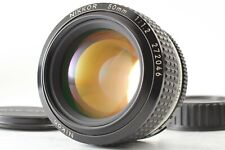 EXC 5 Nikon Ai-S Nikkor 50mm F1.2 standard Prime MF Lens W/O Gancio FM Giappone #62
