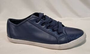 Sportsgirl Ladies Shoes Size Eur 40 US 9 Blue Fashion Sneakers Flats Casual
