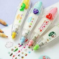 9 Color Cute Cartoon Correction Tape Study Stationery School Office Supplie C8S3