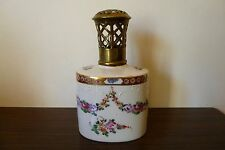 ANCIEN LAMPE BERGER PARFUM PORCELAINE PARIS ANTIQUE FRENCH PORCELAIN LAMP 19TH