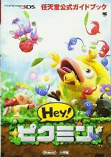 Nintendo Official Guide Book Hey! Pikmin book 3DS New F/S