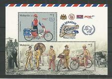 MALAYSIA 2012 WORLD POST DAY.25 MINISHEET SG,MS1912 U/M N/H LOT 2020A