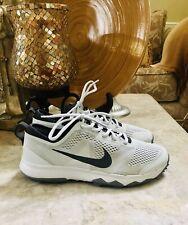 Mens Nike Fi Bermuda Golf Shoes Size 8.5 Us White Gray 776121-003