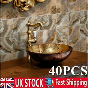UK Marble Tile Stickers Kitchen Bathroom Self-adhesive Mosaic Sticker Wall Decor