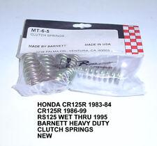 HONDA 125R RS125 KTM GAS GAS HEAVY DUTY CLUTCH SPRINGS BARNETT NEW