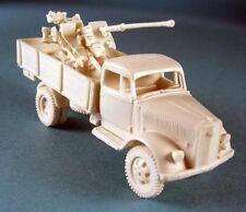 Milicast BG138 1/76 Resin WWII German Opel Blitz 3t Truck w Flak 36 37mm AA