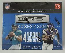 2011 Panini Rookies & Stars Football Card Hobby Box NEW 24 Packs