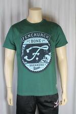 FENCHURCH uomo verde bottiglia t shirt taglia media (88)