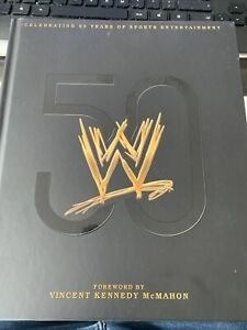 Signed WWE 50 Years Book